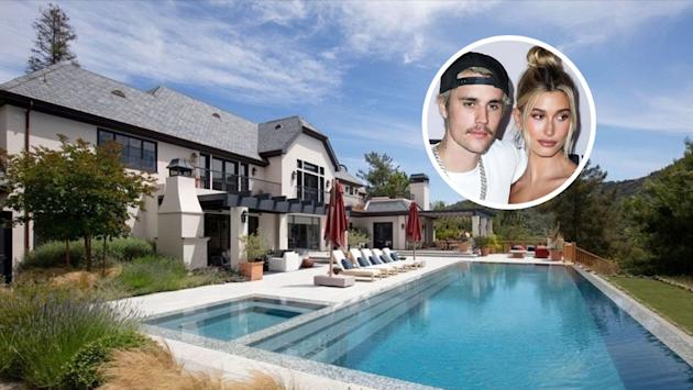 Justin & Hailey Bieber Buy $25.8 Million Mansion in Beverly Hills