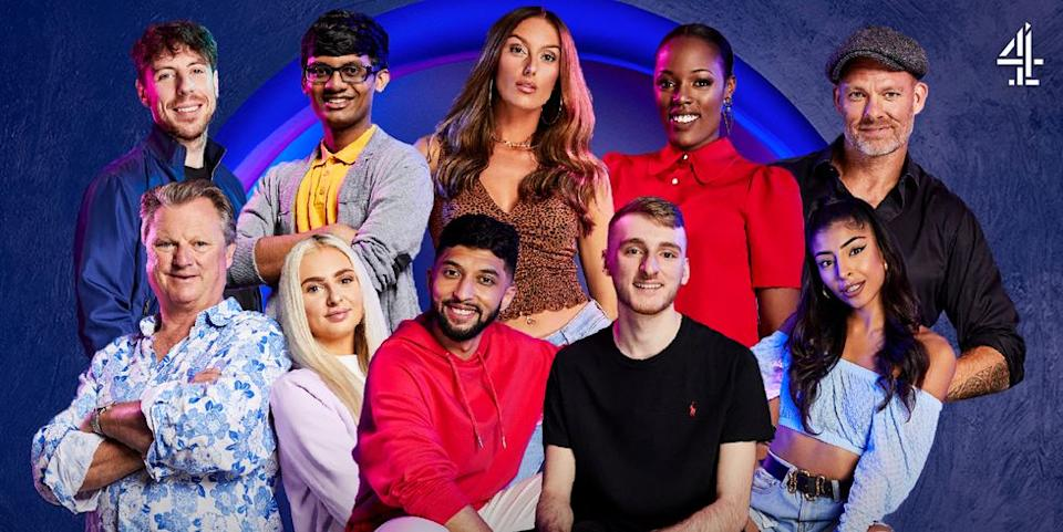 The Circle season 3 contestants. (Channel 4)