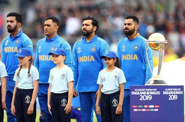 India v New Zealand - ICC Cricket World Cup 2019 Semi-Final India v Pakistan - 2015 ICC Cricket World Cup