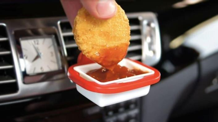 Eating in your car just got a whole lot easier.