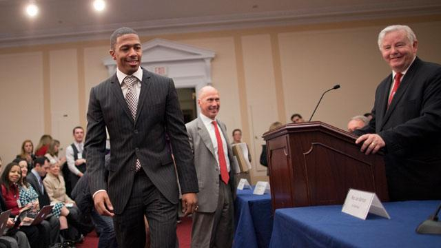 On Capitol Hill, Nick Cannon talks Online Privacy for Children