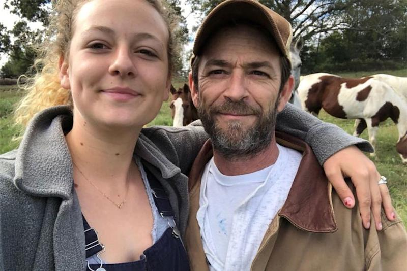Sophie and Luke Perry | Sophie Perry/Instagram