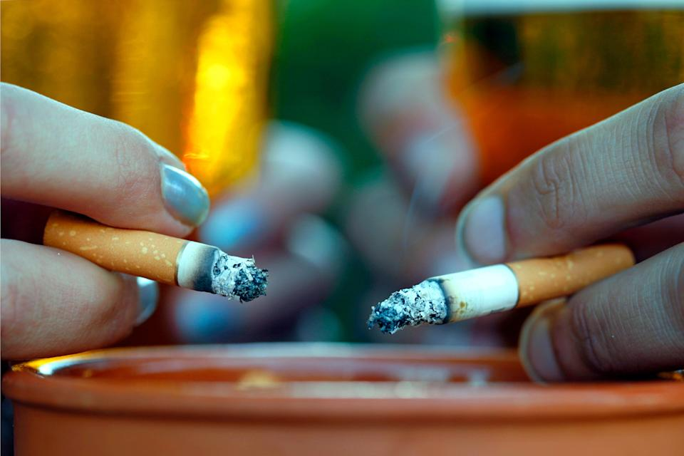 'Of course, smokers and non-smokers alike can appreciate how bad even the occasional fag can be for us' (Universal Images Group/Getty)