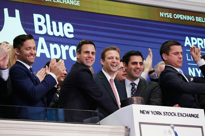 Blue Apron shares bounce back to over $1, lowering its risk of getting delisted