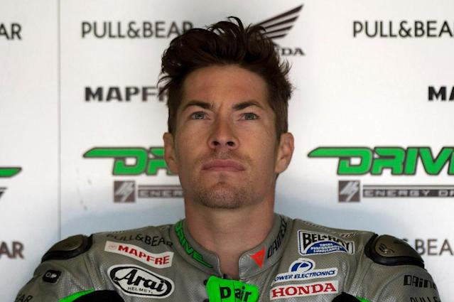 US rider Nicky Hayden has died after being hit by a car in a bicycle accident in Italy (AFP Photo/Jorge Guerrero)