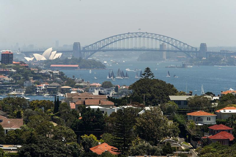 Property prices in Australia have officially fallen. (Photographer: Brendon Thorne/Bloomberg via Getty)