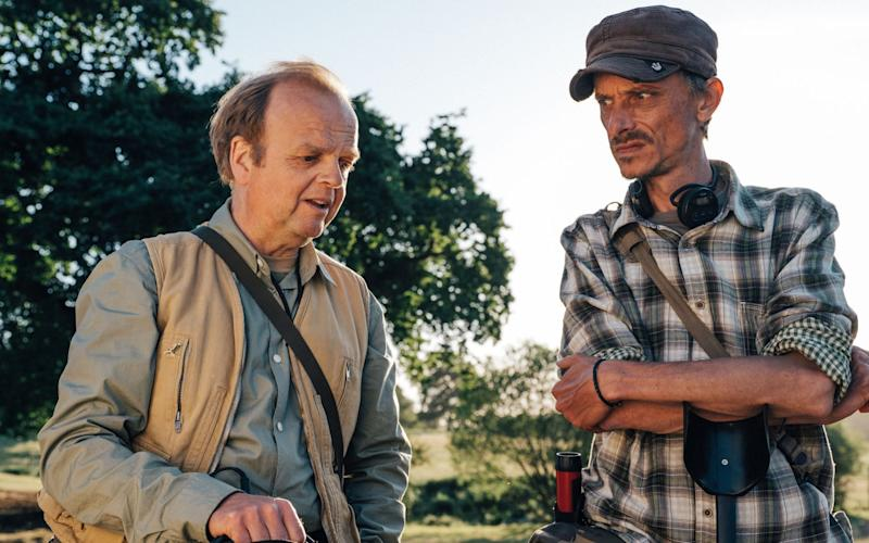 Lance and Andy: friends and metal detectorists forever - WARNING: Use of this copyright image is subject to the terms of use of BBC Pictures' Digital Picture