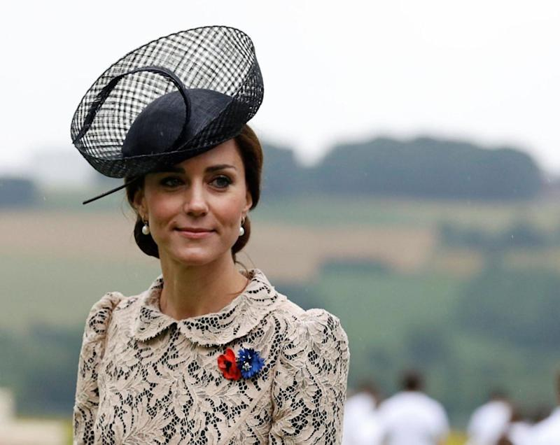 Kate Middleton has reportedly vowed to protect Meghan Markle from Camilla. Photo: Getty Images