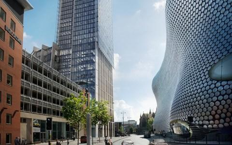 "A Kuwaiti developer has unveiled plans to build the tallest office building in Birmingham as part of a £158m city centre development after years of delays. Property company Salhia is poised to start work on the project later this year, and is seeking companies to occupy the office space, which will sit alongside new homes, shops, restaurants and a hotel. The site where the scheme will be built is known as Beorma Quarter, which takes its name from the first settlement of Birmingham during the Anglo-Saxon period. Part of the development will be a 30-storey office building, the tallest in the city. The development of such a large office building hints at the increasing number of companies looking to relocate out of London. A hotel building and the city's BT Tower are the only taller structures in the city. Plans for the redevelopment of the 2.25-acre site have been in the pipeline for almost 10 years but have been beset by delays thanks to challenging market conditions and the complex nature of the site. An initial phase to refurbish an existing building on the site has already been completed. The new development is near to Birmingham's Bullring shopping centre, seen here on the right Waheed Nazir, corporate director for economy at Birmingham City Council, said the city was experiencing ""unprecedented levels of growth"" and so new offices were vital to it keeping up with demand. Birmingham has been boosted in recent years by progress made to build the High Speed Two rail line, and large companies moving staff to regional bases. Mr Nazir added: ""Building on the success of recent relocations from major companies like HS2, HSBC and HMRC, it is clear that Birmingham is set to continue to be a hugely attractive place to invest and do business."" Salhia, which is listed on the Kuwaiti Stock Exchange, has previously worked on the redevelopment of Farnborough town centre in Hampshire alongside British developer St Modwen, but this will be its first stand-alone UK project. The company was established in 1974 by a group of prominent Kuwaiti businessmen, and has since developed a number of buildings in the Middle East and Europe."