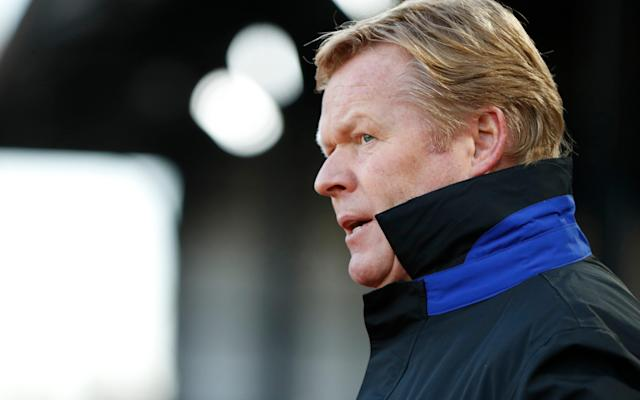 <span>Ronald Koeman has reiterated Everton's hopes, best wishes and support for Aaron Lennon</span> <span>Credit: Reuters/Stefan Wermuth </span>