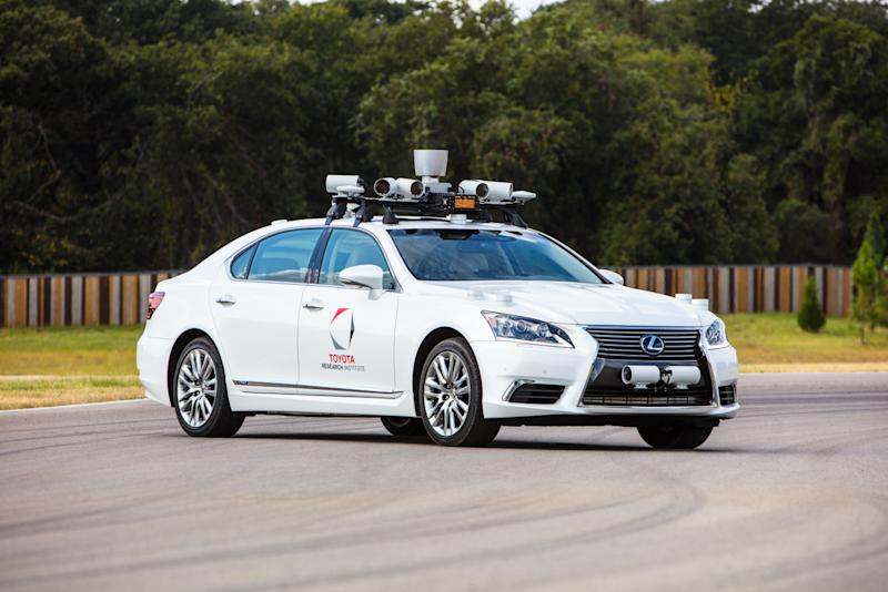 Toyota Is Creating A New Self Driving Company To Make Research A Reality
