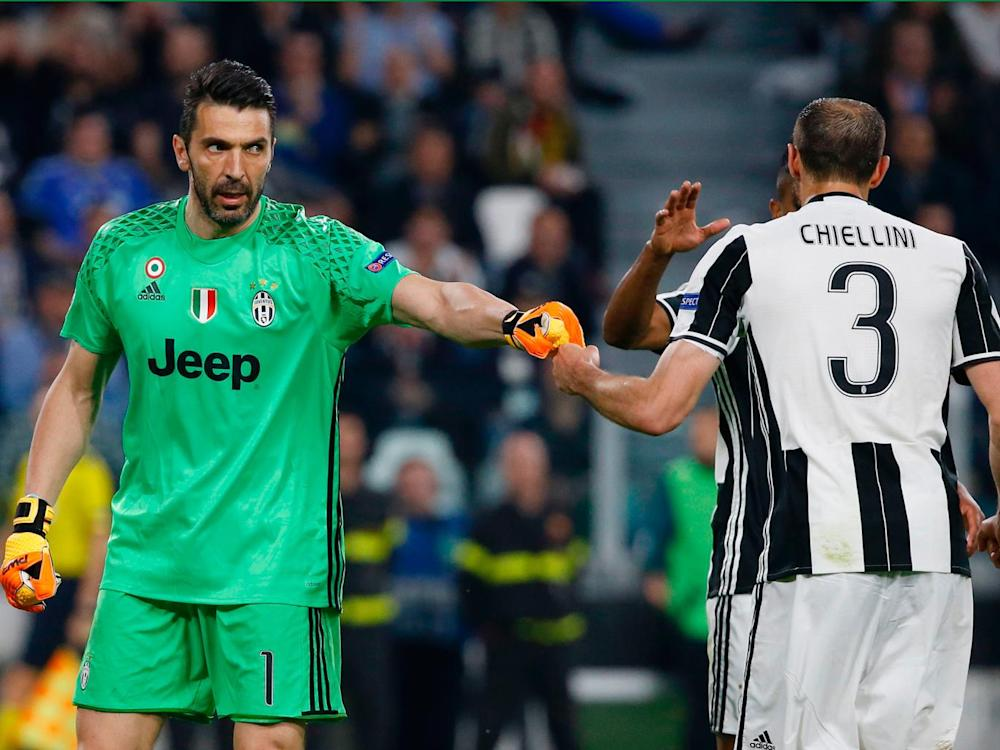Gianluigi Buffon pulled off a world class save to deny Andres Iniesta (Getty)