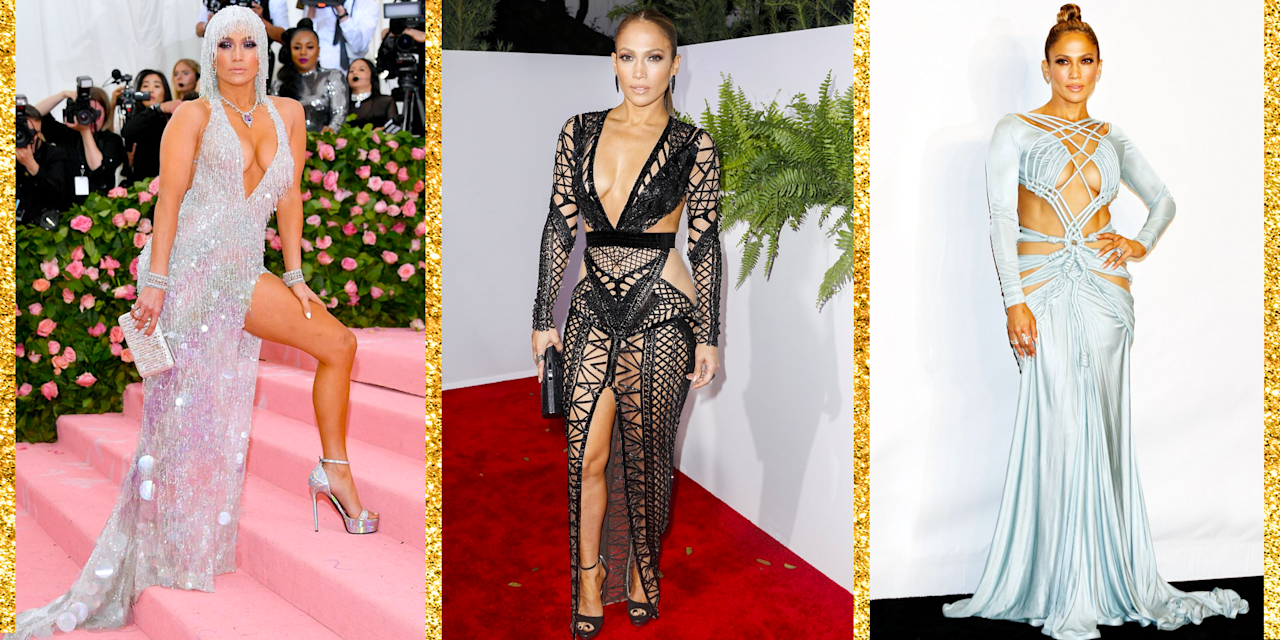 """<p>Jennifer Lopez cemented her status as <a href=""""https://www.oprahmag.com/style/g23319838/tracee-ellis-ross-style/"""" target=""""_blank"""">a fashion icon</a> the moment she arrived to the 2000 Grammys in a now iconic plunging Versace gown. And fun fact: <a href=""""https://www.project-syndicate.org/commentary/google-european-commission-and-disruptive-technological-change-by-eric-schmidt-2015-01#yMSC5IlY7sHATDCO.99"""" target=""""_blank"""">it's because of that dress that Google image search was invented</a>. Since then, J.Lo has continued to push <a href=""""https://www.oprahmag.com/entertainment/g28003934/jennifer-lopez-age/"""" target=""""_blank"""">red carpet boundaries through the years</a>. Whether she pairs her looks with <a href=""""https://www.oprahmag.com/beauty/skin-makeup/g25834936/jennifer-lopez-makeup-looks/"""" target=""""_blank"""">her classic smokey eye makeup</a> or by having <a href=""""https://www.oprahmag.com/life/relationships-love/g23899642/jennifer-lopez-alex-rodriguez-red-carpet-style-moments/"""" target=""""_blank"""">fiancé Alex Rodriguez at her side</a>, Lopez knows exactly how to show off. Here are some of Lopez's sexiest outfits yet. </p>"""