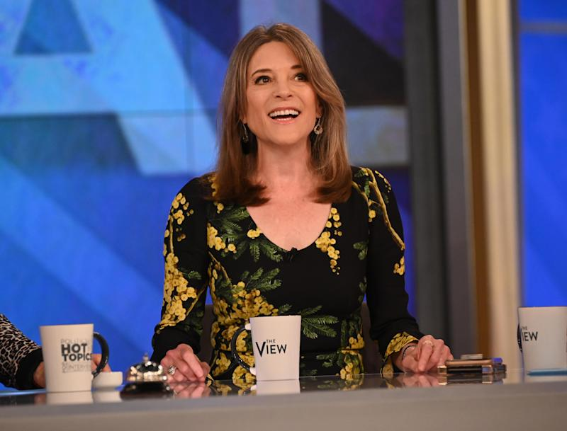 Marianne Williamson was featured in an eye-opening New York Times profile. (Photo by Paula Lobo/Walt Disney Television via Getty Images)