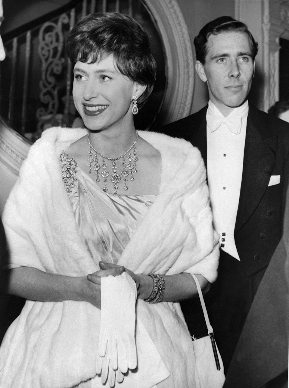 """<p>There hadn't been a divorced member of the royal family <a href=""""https://www.townandcountrymag.com/society/news/a9255/princess-margaret-lord-snowdon-relationship/"""" rel=""""nofollow noopener"""" target=""""_blank"""" data-ylk=""""slk:since King Henry VIII"""" class=""""link rapid-noclick-resp"""">since King Henry VIII</a> in the 1500s, until Princess Margaret and Lord Snowdon <a href=""""https://inews.co.uk/culture/television/princess-margaret-lord-snowdon-marriage-affairs-divorce-the-crown-season-3-1044197"""" rel=""""nofollow noopener"""" target=""""_blank"""" data-ylk=""""slk:announced their separation"""" class=""""link rapid-noclick-resp"""">announced their separation</a> in 1976.</p>"""