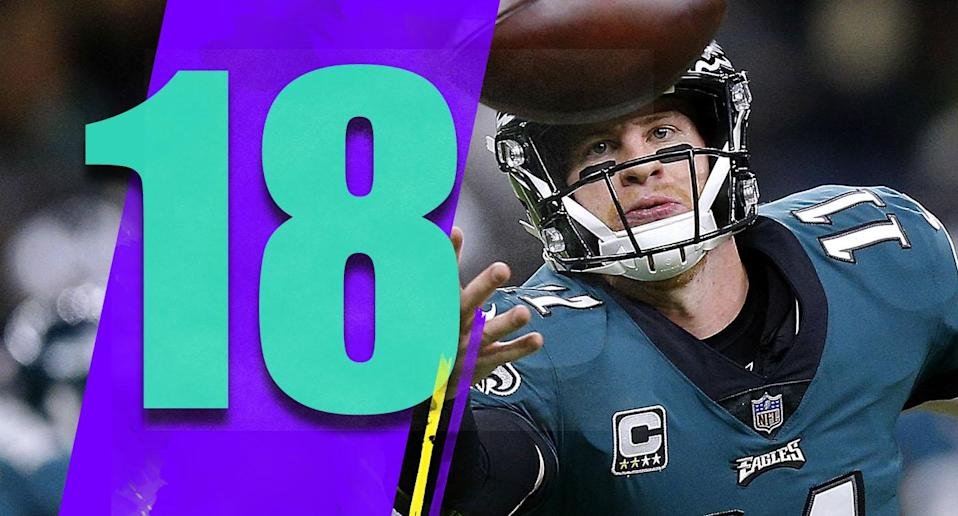 <p>The Super Bowl hangover is real, and that has affected Philadelphia. Some injuries have been an issue, but a lot of teams deal with injuries. (Carson Wentz) </p>