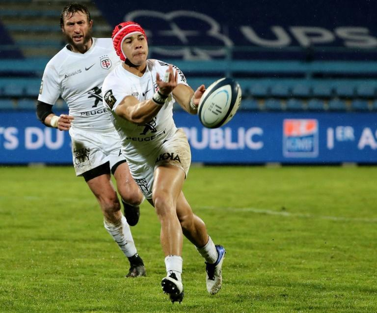 Toulouse's Cheslin Kolbe has scored eight tries in nine matches so far this season