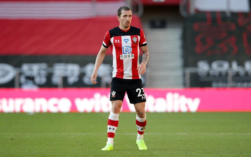 Pierre-Emile Hojbjerg of Southampton has failed to agree a contract extension - GETTY IMAGES