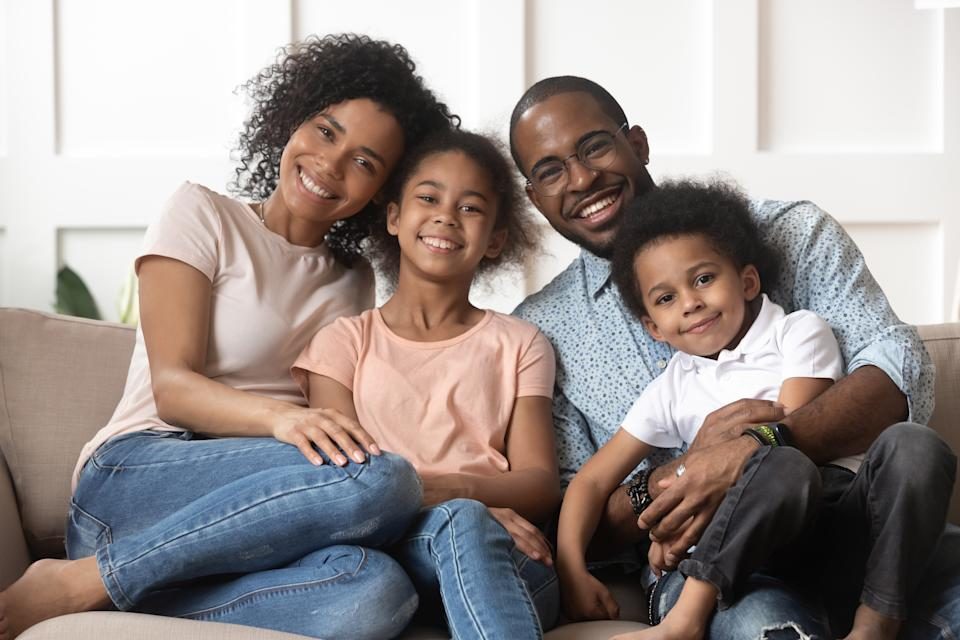 The white American homeownership rate stands at 73.7%, but it's at 44% for Black Americans, according to Census numbers. (Source: Getty Creative)
