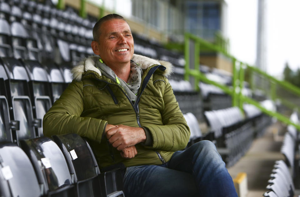 Ecotricity owner Dale Vince, who is also the chairman of Forest Green Rovers FC