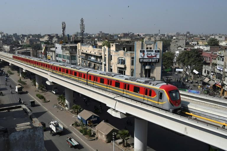 """It is hoped that the """"Orange Line"""" will cut travel times across the perennially congested city"""
