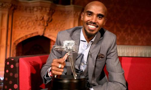 Mo Farah wins BBC's Sports Personality of the Year award