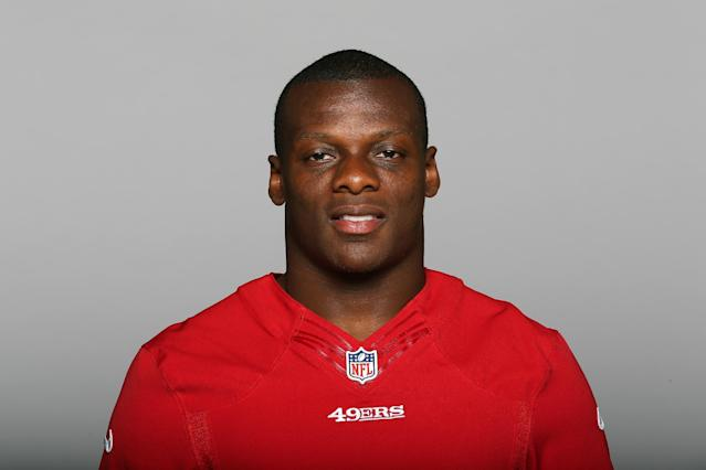 This is a 2014 photo of Kendall Hunter of the San Francisco 49ers NFL football team. This image reflects the San Francisco 49ers active roster as of Thursday, May 22, 2014 when this image was taken. (AP Photo)