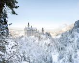 <p>Because we <em>absolutely</em> can't get enough of Neuschwanstein Castle, we had to show you the majestic white sandstone palace during winter. 'Kay bye!</p>