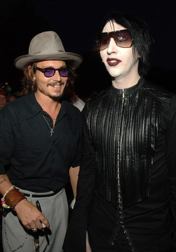 """Johnny Depp and Marilyn Manson to cover Carly Simon's """"You"""