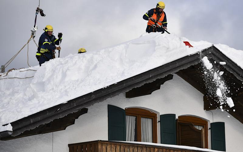 Parts of Europe have experienced exceptionally heavy snowfall - Getty Images Europe