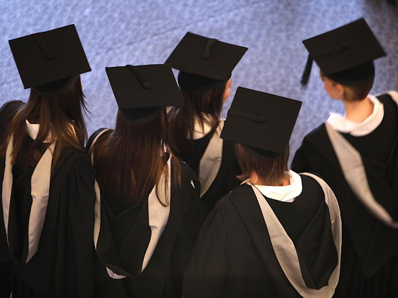 There has been a sharp rise in the number of unconditional offers handed out by UK universities: Getty Images