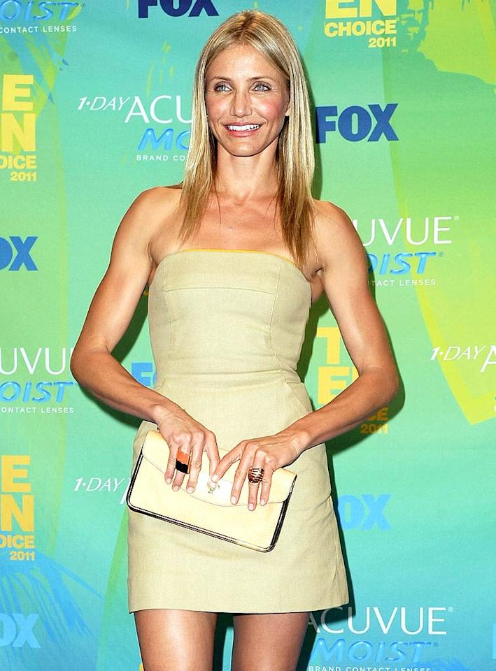 "Cameron Diaz turns 39. Steve Granitz/<a href=""http://www.wireimage.com"" target=""new"">WireImage.com</a> - August 7, 2011"
