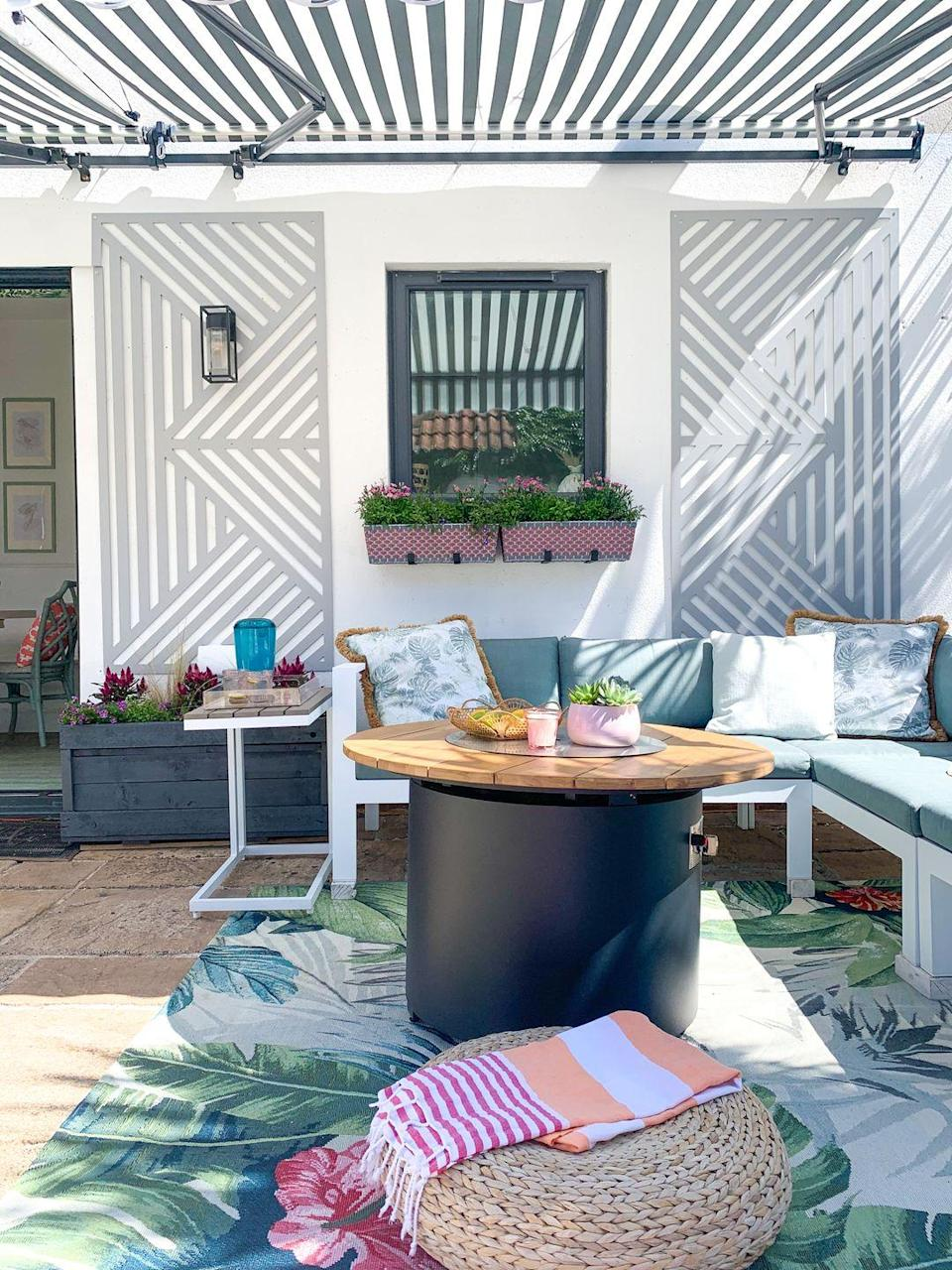 <p>Packed with personality, this charming seating area has everything you need for a sunny weekend in the garden.</p>