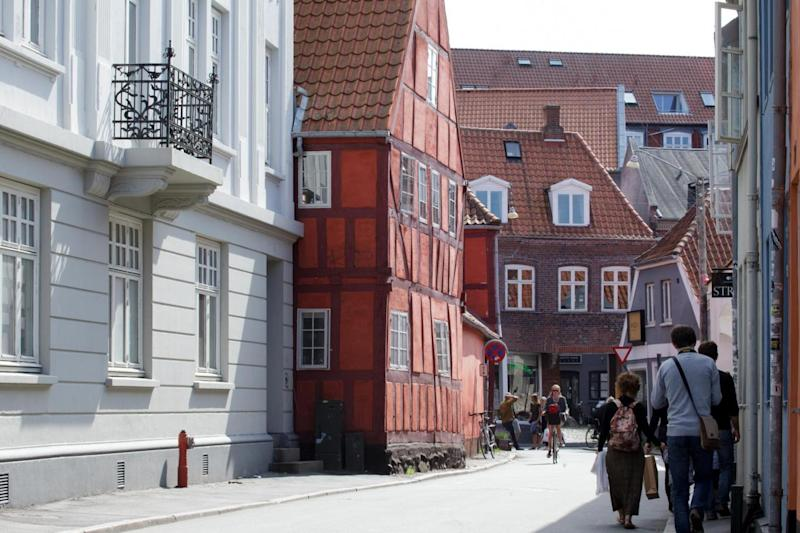A street in the centre of Aarhus, Denmark's second-largest city (Kim Wyon/VisitDenmark)