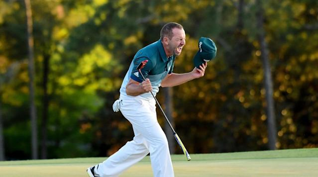 Sergio Garcia's first major win had to come this way, didn't it?