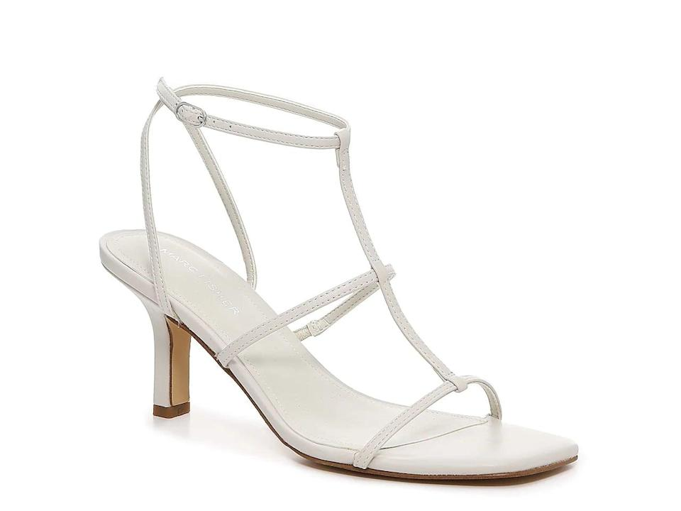 <p>These <span>Marc Fisher Qulsa Sandals</span> ($60) would look so cute with dresses. </p>
