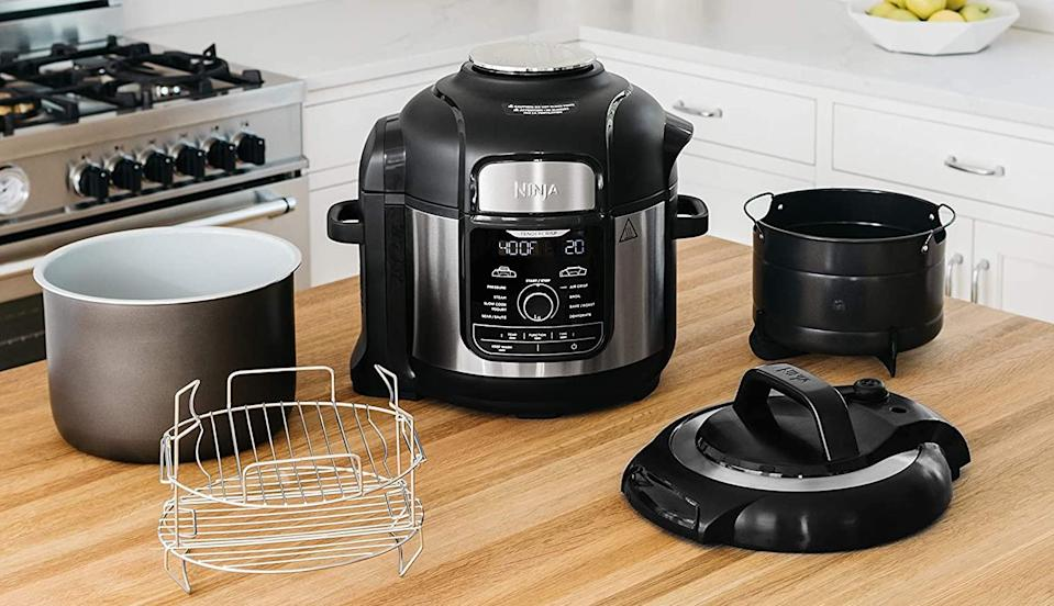 Prime Day Ninja FD401 Foodi 8-Quart 9-in-1 Deluxe XL Multi-Cooker (Photo: Amazon)