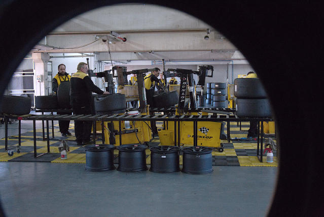 The black magic of motorsport tyre testing