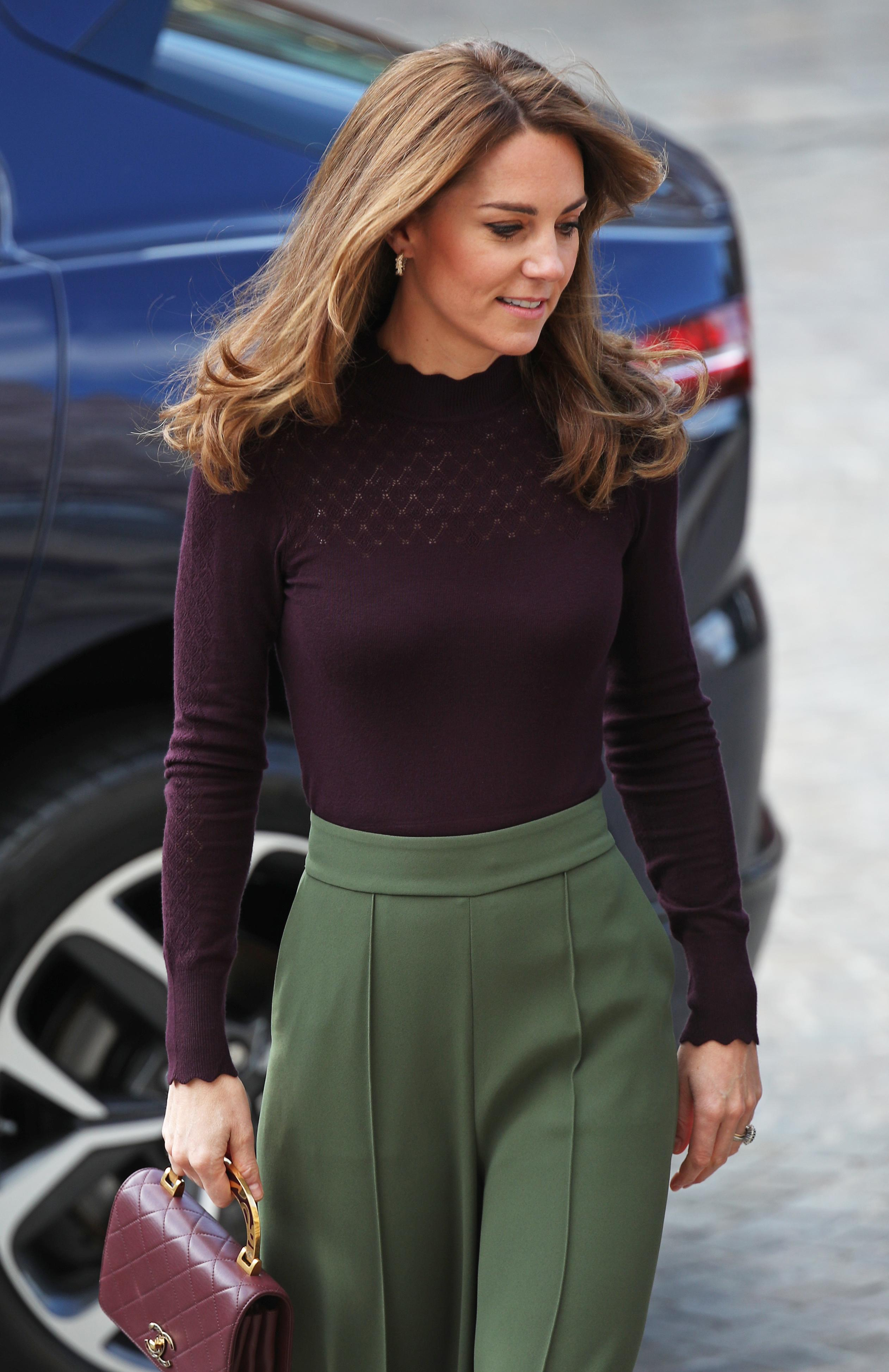 Duchess of Cambridge visits the Natural History Museum on 9 October, 2019 [Photo: Getty]