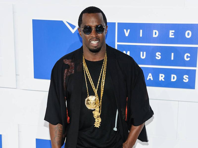 Sean 'Diddy' Combs performing in concert following premiere of Bad Boy documentary