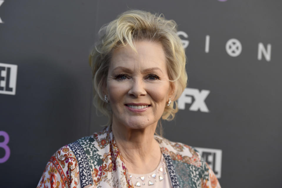 """Jean Smart arrives at the premiere of """"Legion"""" season two at the DGA Theater on Monday, April 2, 2018, in Los Angeles. (Photo by Jordan Strauss/Invision/AP)"""