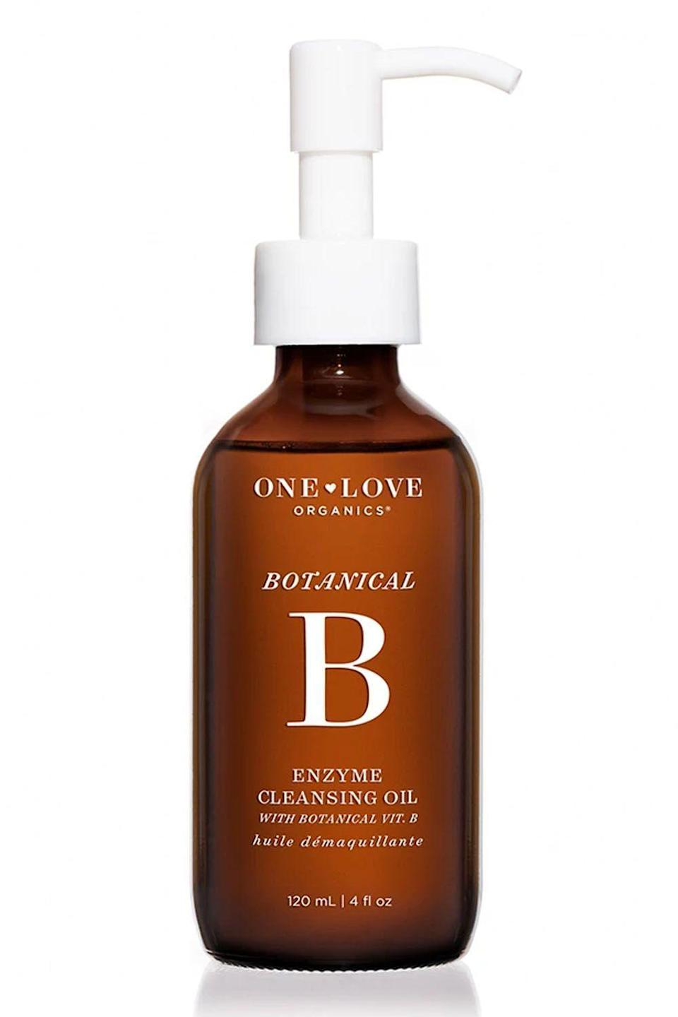 """<p><strong>One Love Organics</strong></p><p>dermstore.com</p><p><strong>$42.00</strong></p><p><a href=""""https://go.redirectingat.com?id=74968X1596630&url=https%3A%2F%2Fwww.dermstore.com%2Fproduct_Vitamin%2BB%2BEnzyme%2BCleansing%2BOil%2BMakeup%2BRemover_53450.htm&sref=https%3A%2F%2Fwww.cosmopolitan.com%2Fstyle-beauty%2Fbeauty%2Fg19620718%2Fbest-makeup-remover%2F"""" rel=""""nofollow noopener"""" target=""""_blank"""" data-ylk=""""slk:Shop Now"""" class=""""link rapid-noclick-resp"""">Shop Now</a></p><p>This <a href=""""https://www.cosmopolitan.com/style-beauty/beauty/g20126849/organic-skin-care-brands-products/"""" rel=""""nofollow noopener"""" target=""""_blank"""" data-ylk=""""slk:organic"""" class=""""link rapid-noclick-resp"""">organic</a> cleansing oil feels like an absolute dream on your skin—the <strong>combo of vitamin E, sunflower seed oil, beeswax, and papaya seed oil</strong> means that your makeup comes off gently and it won't leave your skin feeling tight or dry.</p>"""