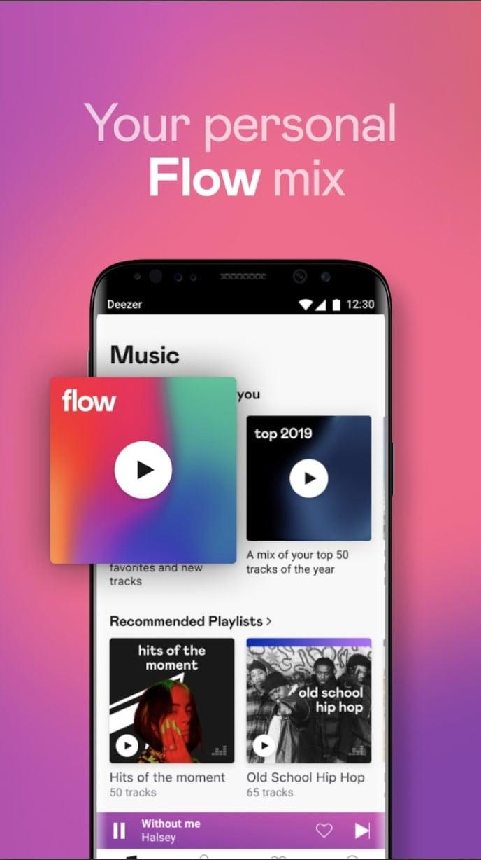 best android apps deezer android2