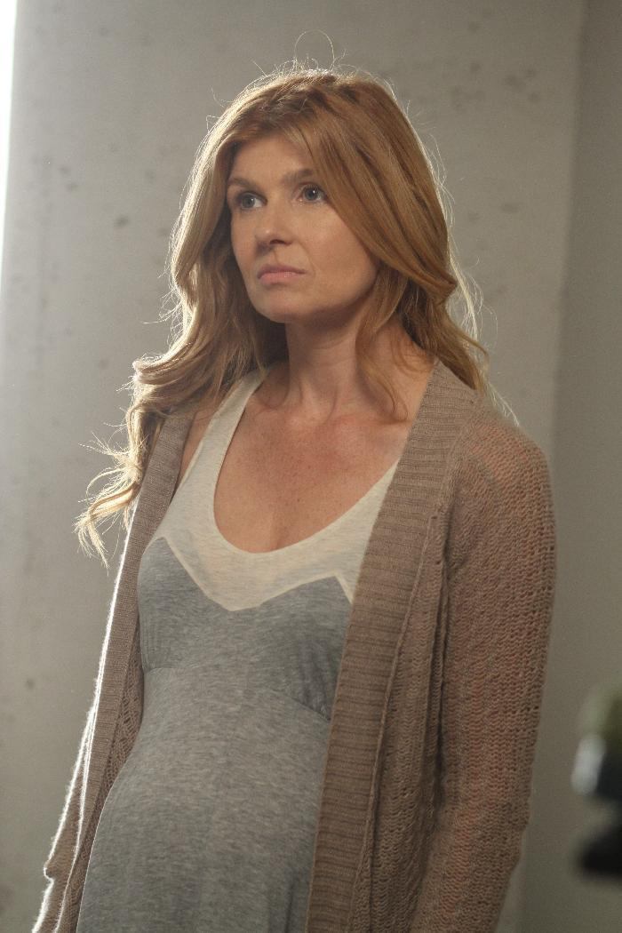 """This undated image released by FX shows Connie Britton in a scene from """"American Horror Story."""" On Thursday, July 19, 2012 """"American Horror Story"""" received 17 Emmy nominations including a nomination for outstanding lead actress in a miniseries or a movie. The 64th annual Primetime Emmy Awards will be presented Sept. 23 at the Nokia Theatre in Los Angeles, hosted by Jimmy Kimmel and airing live on ABC. (AP Photo/FX, Mike Ansell)"""