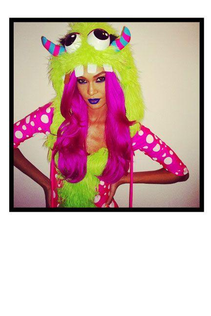 "<p>As a ""little monster"" at the Byrne Notice and Emerson Sick Halloween Party in NYC.</p>"