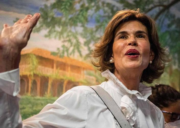 Cristiana Chamorro was placed on house arrest just hours after formally announcing she would run for president in Nicaragua's Nov. 7 election.
