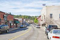 <p>Placerville is a California gold rush town, named after the gold deposits found in its river beds, </p>