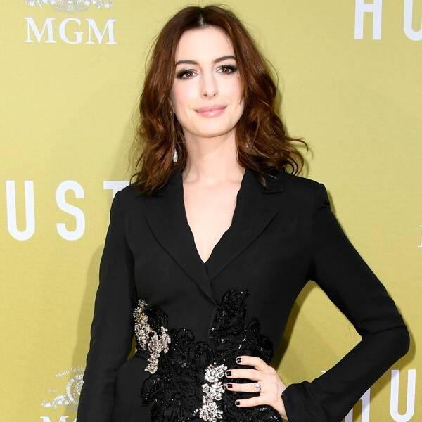 """Anne Hathaway Reveals the Unique Ways She Coped With the Coronavirus Shutdown—Including """"Sensible Heels"""""""