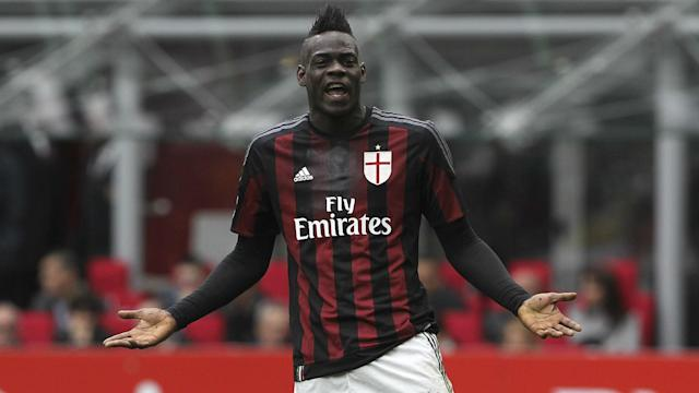 The possibility of Mario Balotelli returning to AC Milan seems even more remote after the striker accused some fans of lacking respect.