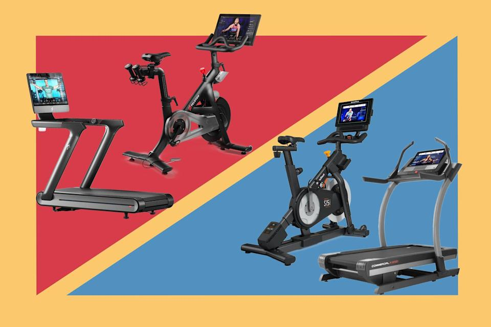 Peloton vs. NordicTrack: How Their Indoor Cycling Bikes and Treadmills Compare